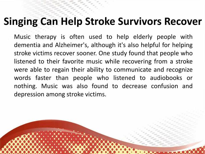 Speech and language therapy after stroke
