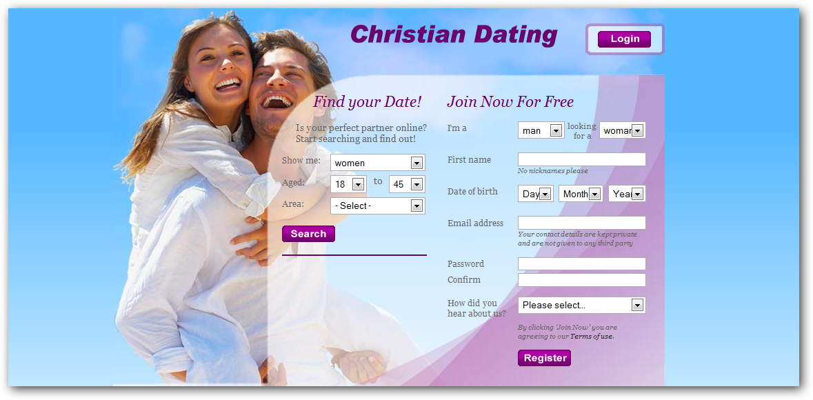 American christian dating site