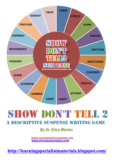Show not tell essay