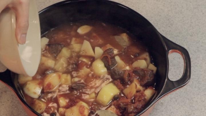 Блюда в казане рецепты с пошаговым фото