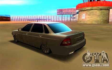 Лада Приора 86RUS для GTA San Andreas