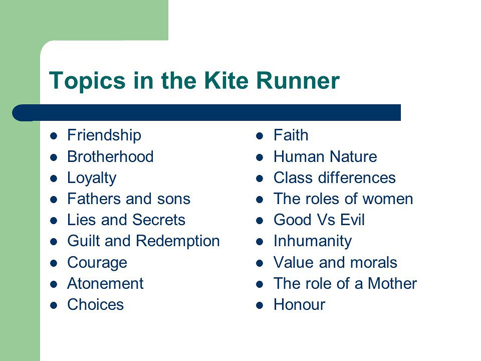 The Kite Runner Essay Topics The Kite Runner Essay Topics  Custom Essaysorg Writing High School Essays also Thesis Essay  Interesting Persuasive Essay Topics For High School Students