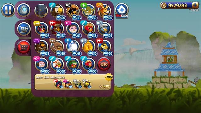 Взлом Angry Birds Star Wars II много денег