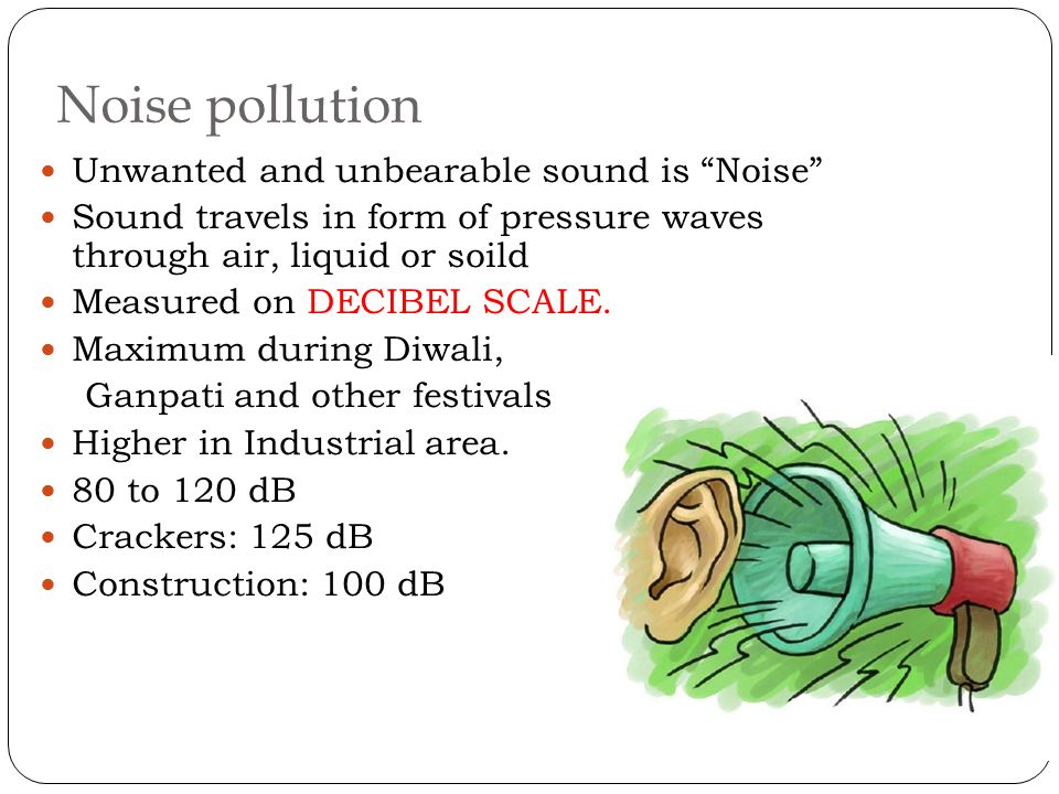 noise pollution research paper Position paper on noise pollution the issue noise pollution is a pervasive problem in today's society and we are constantly inundated with unwanted human-created sound that affects us on multiple levels.