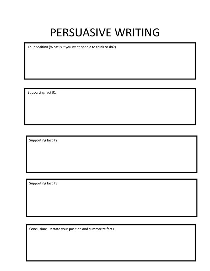 Paragraph Essay Graphic Organizer - Freeology