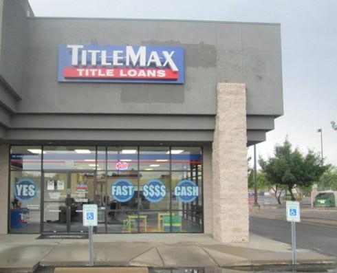 Tucson title loans company