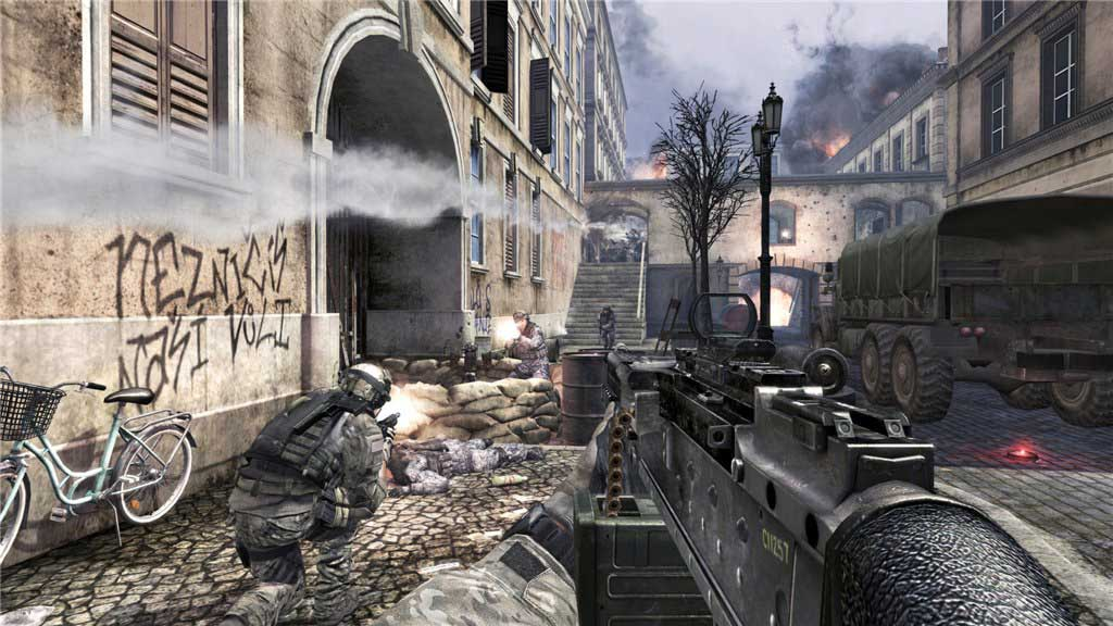 Call of Duty 4 Modern Warfare - PS3 - Torrents Games