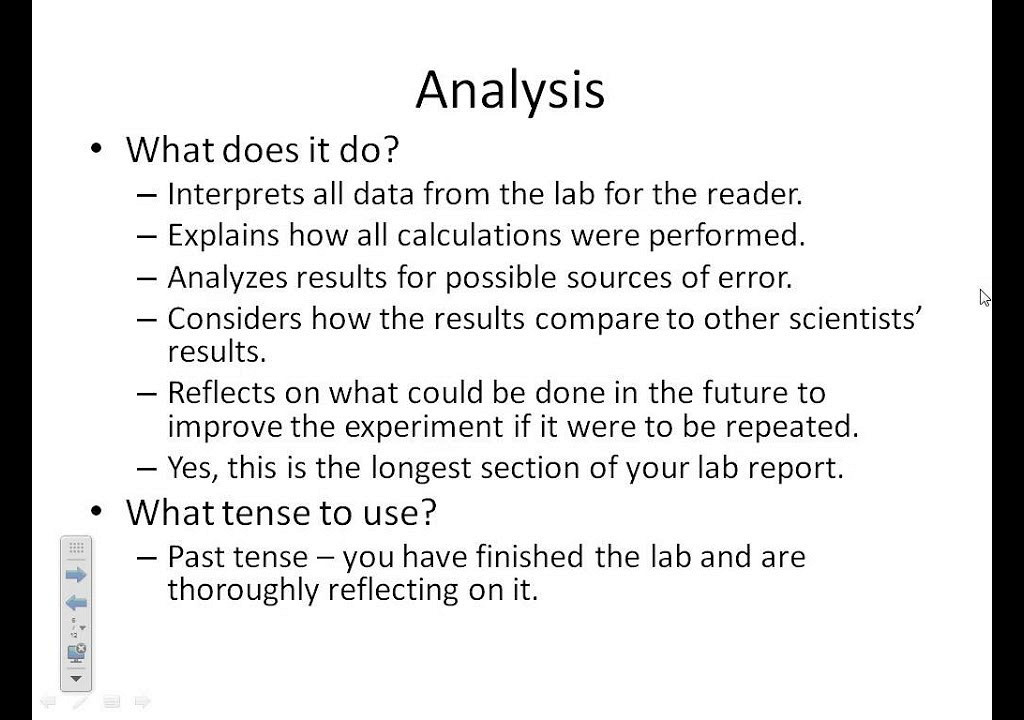 Write my formal lab report