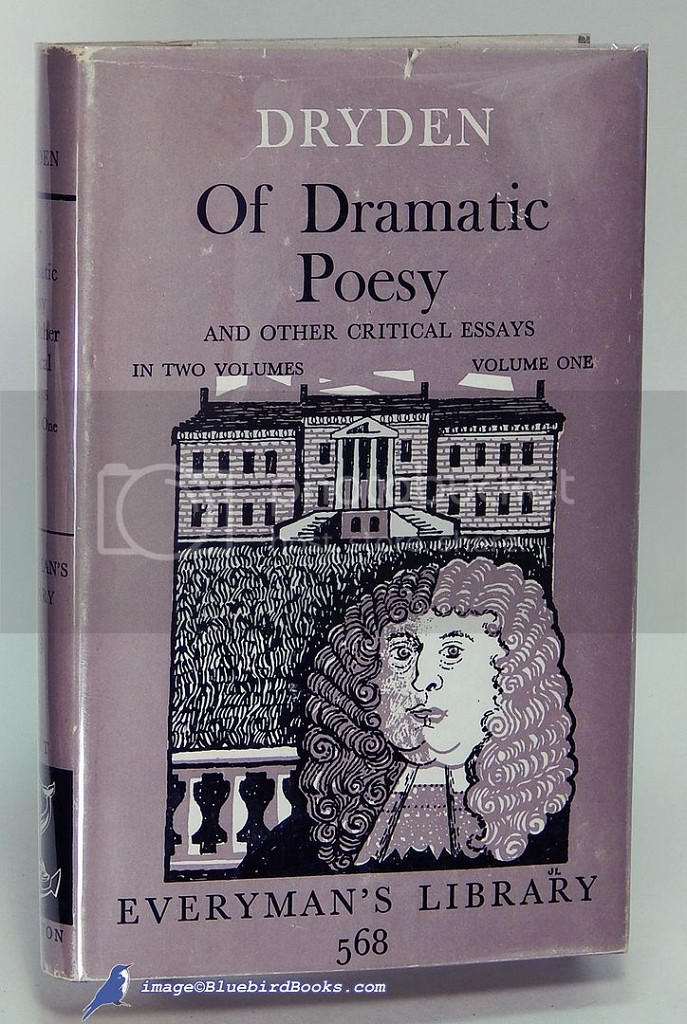 essay of dramatick poesie john dryden What can I do to prevent this in the future?