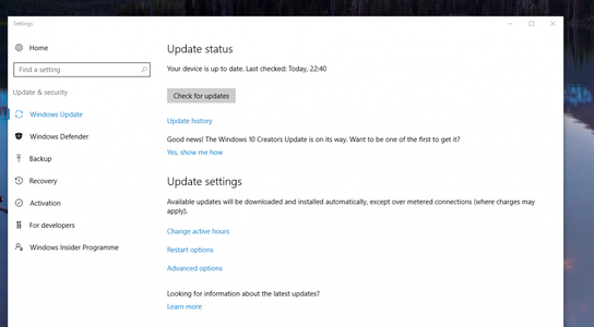 Steps to Manually Download Windows 10 Creators Update