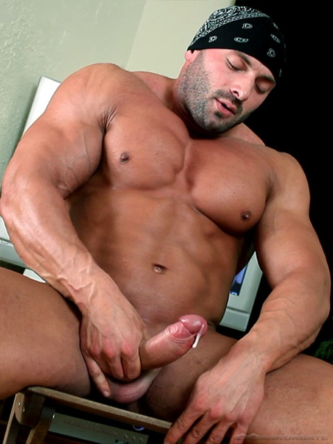 Big dick gay muscle