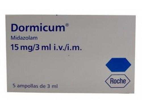 Dormicum 15 mg roche