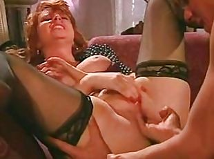 Fucking moms loose hairy pussy