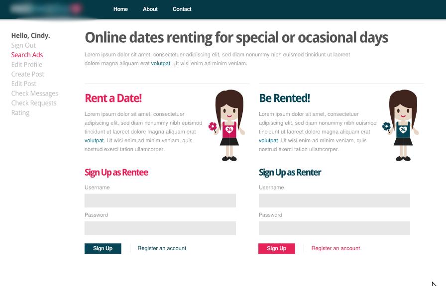 Online dating first date description