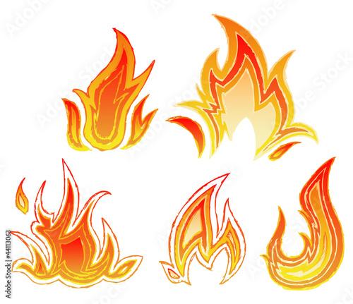 uerflammede - feuerflamme - Feuerflamme