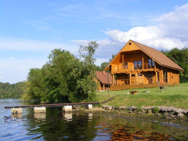 Дом в Никити в деревне недалеко от моря