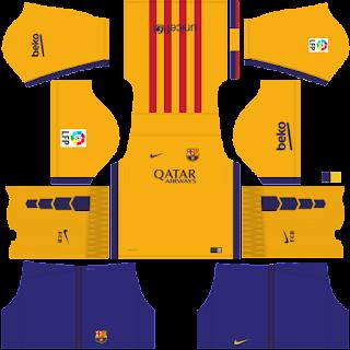 Pictures | uniforma portar fc barcelona dream leauge soccer 16