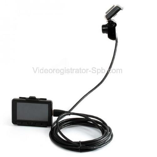 Автомобильный видеорегистратор Prestige 492 с выносной камерой.