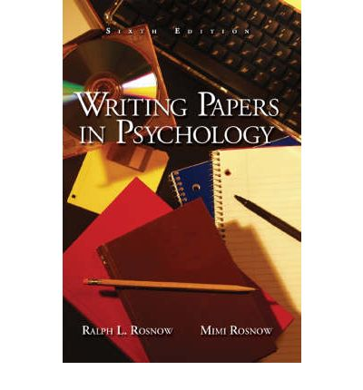 Dymocks - Writing Papers in Psychology by Mimi Rosnow