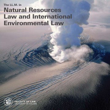 Environmental law dissertation