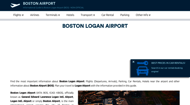 Boston logan arrivals