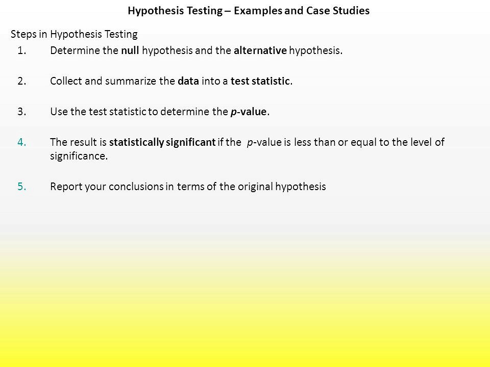 Hypothesis Testing - Chi Squared Test - Boston University