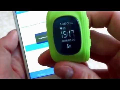 Настройка часов телефона с алиэкспресс