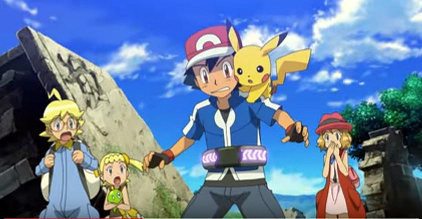Pokemon The Series: XY Episode 1 Kalos, Where