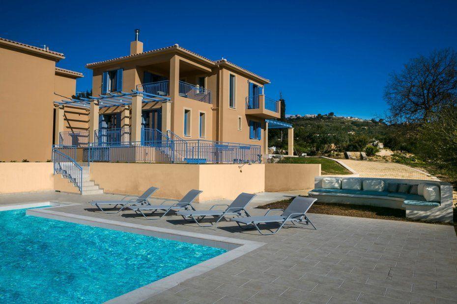 Недорогой дом в Кефалония с видом на море