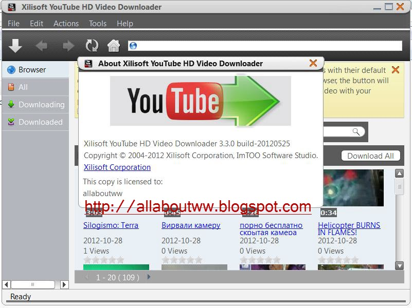 Free download crack for xilisoft youtube video converter