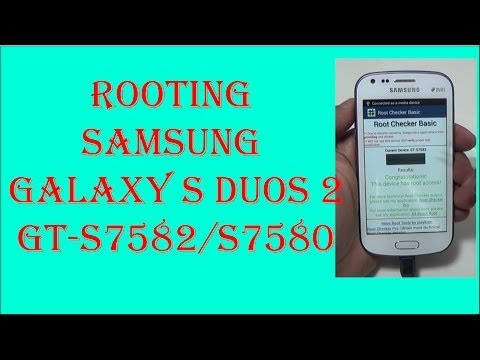 Root Samsung Galaxy S Duos and install CWM Recovery