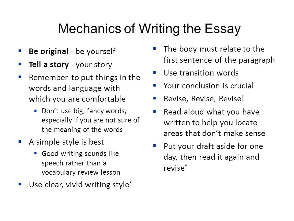 Write my english composition essay topics