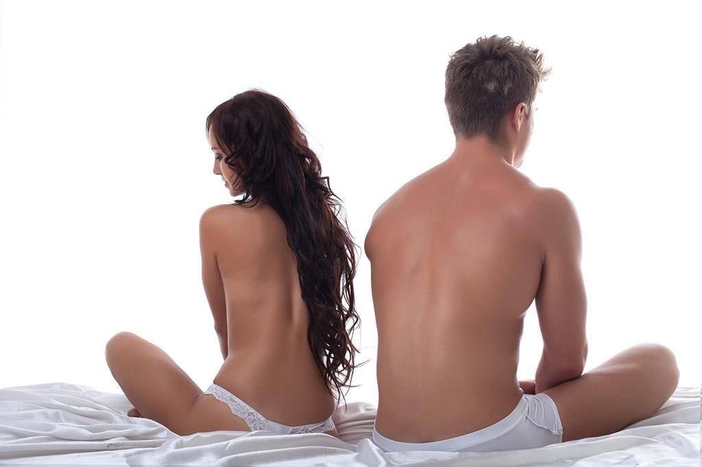 Плохая эрекция при первом сексе