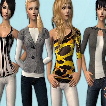 Дополнение к the sims одежда косметика