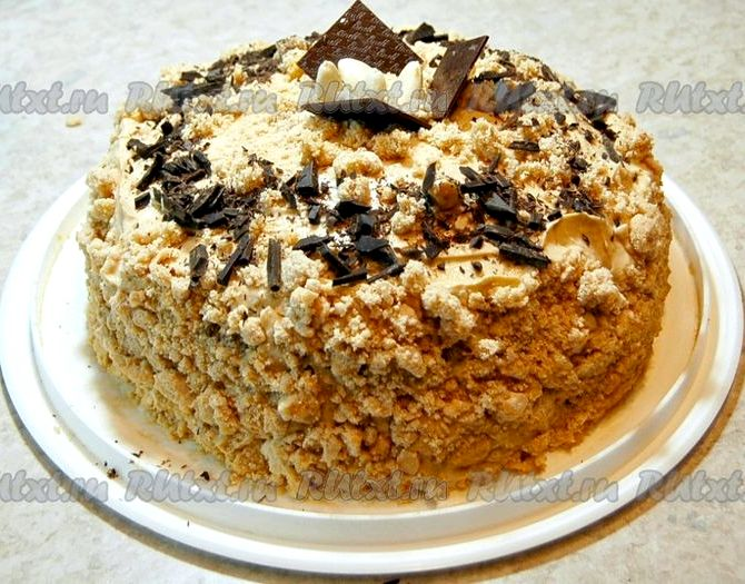 Простой и быстрый рецепт торта в домашних условиях с фото