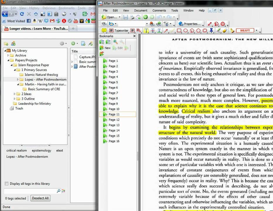 Zotero Annotate documents - PDFs Download