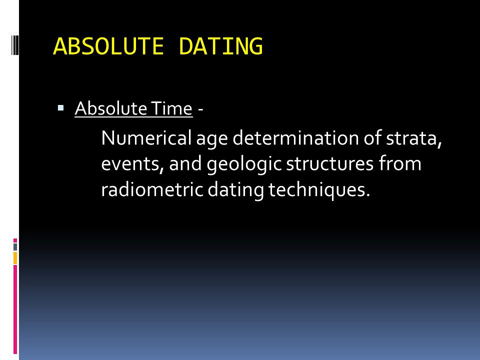 Chapter 8: Fossils, geologic time, dating methods