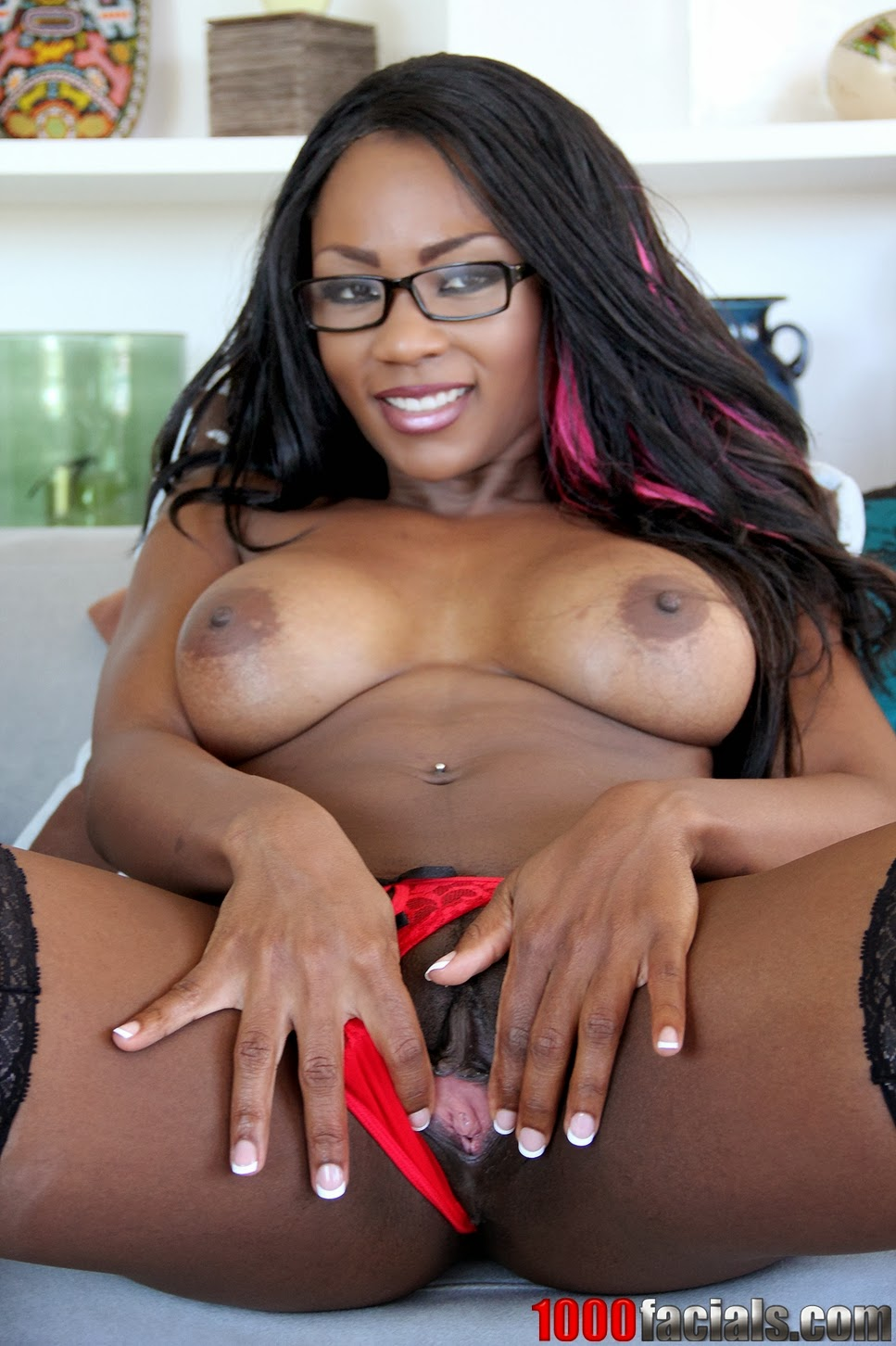 Black ebony naked women