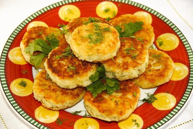 оладьи из картофеля рецепт с фото