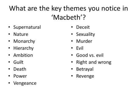 Macbeth Ambition Essay - Bartleby