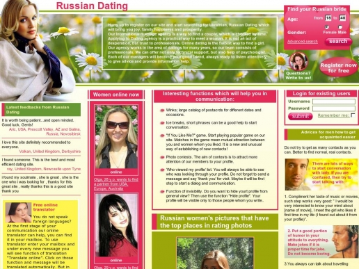 Russian dating in usa