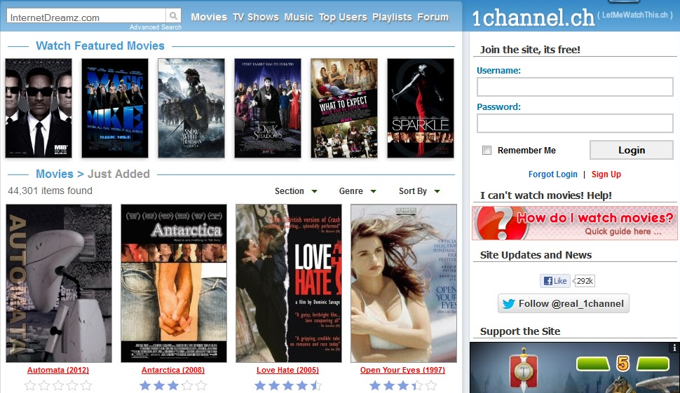 What are the best sites to watch Bollywood movies for free