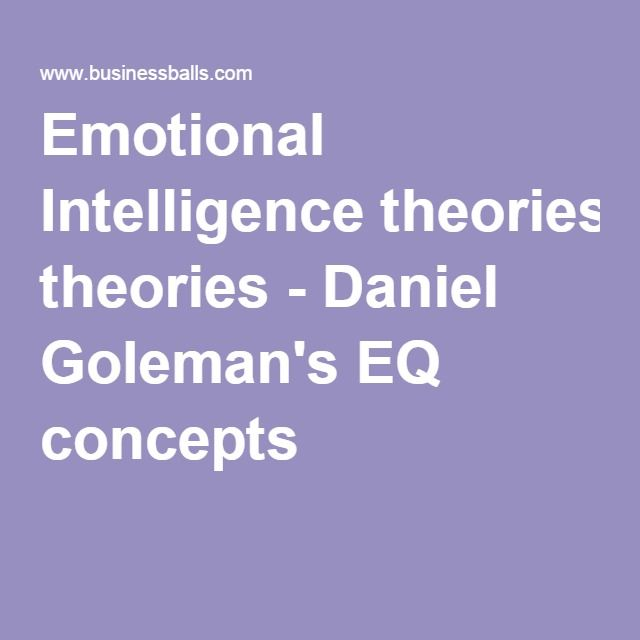 Write my emotional intelligence research papers