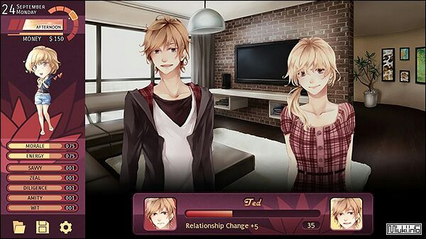 Anime dating simulation games no download
