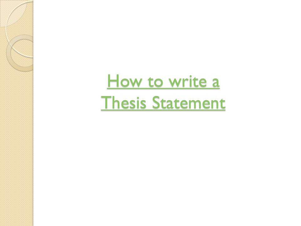 What is a three prong thesis in an essay - Answerscom