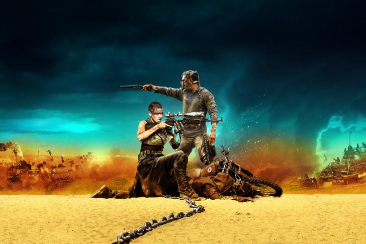 Mad Max Fury Road 2015 Hindi 720p BRRip Dual Audio Full