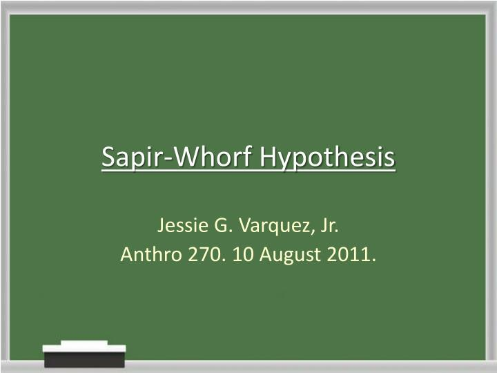 What are the main criticisms of Whorf's theory of