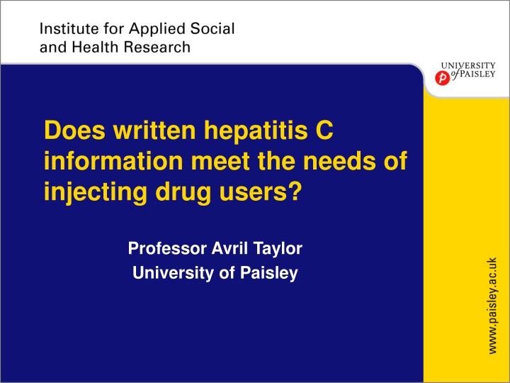 Write my hepatitis c review article