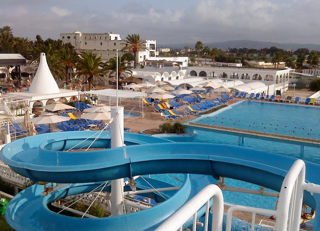 лучшие отели туниса с горками