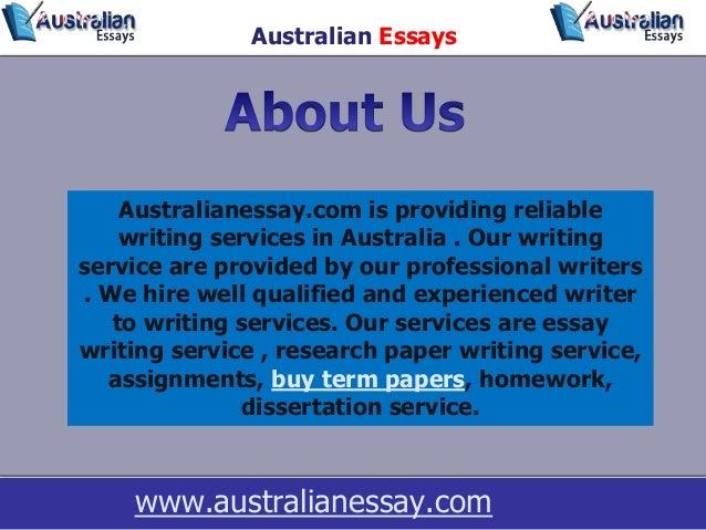 Essay writing service au